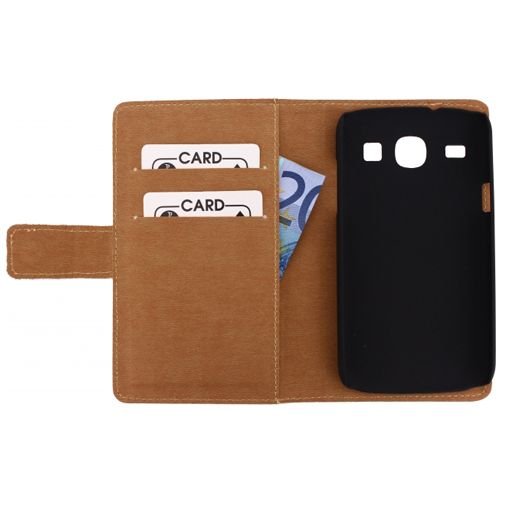 Mobilize Slim Wallet Book Case Samsung Galaxy Core White
