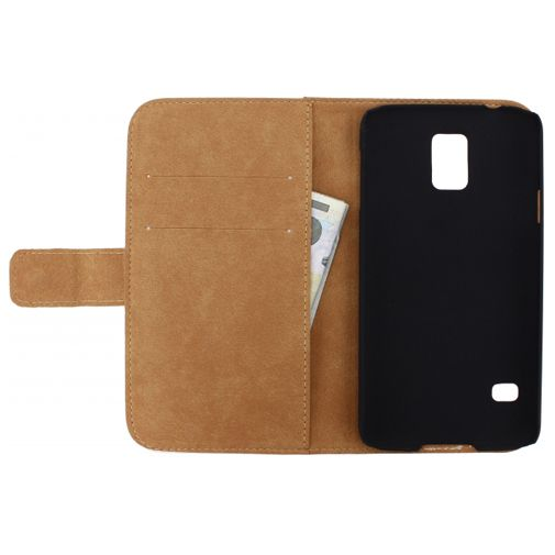 Productafbeelding van de Mobilize Slim Wallet Book Case White Samsung Galaxy S5/S5 Plus/S5 Neo