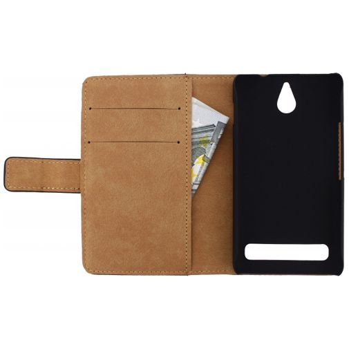 Mobilize Slim Wallet Book Case Sony Xperia E1 Black