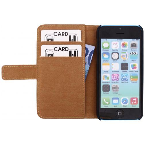Mobilize Slim Wallet Book Case White Apple iPhone 5C