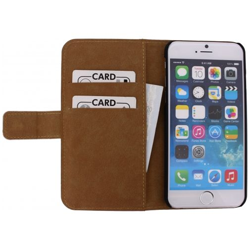 Mobilize Slim Wallet Book Case White Apple iPhone 6/6S