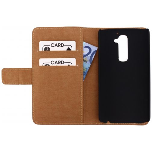 Mobilize Slim Wallet Book Case White LG G2