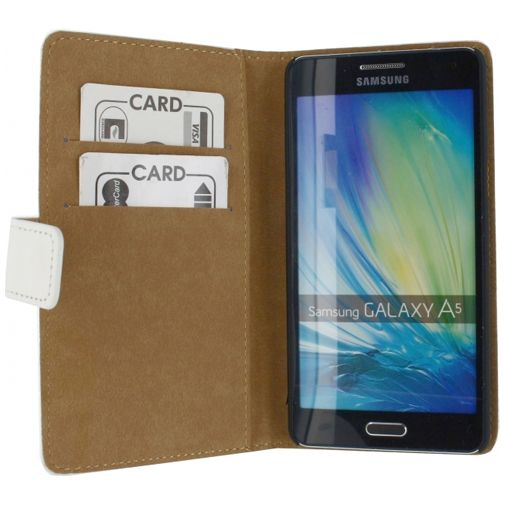 Mobilize Slim Wallet Book Case White Samsung Galaxy A5