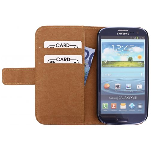 Mobilize Slim Wallet Book Case White Samsung Galaxy S3 (Neo)