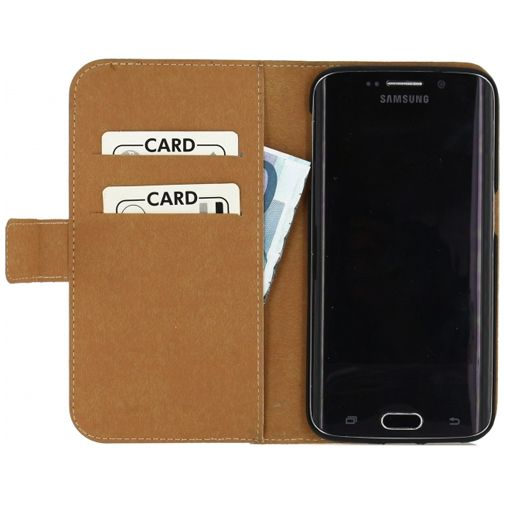 Mobilize Slim Wallet Book Case White Samsung Galaxy S6 Edge