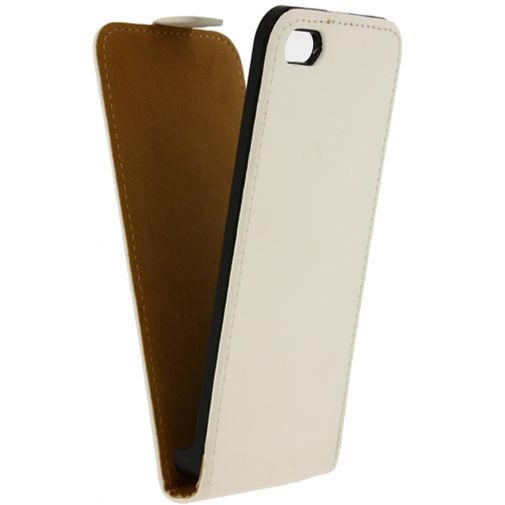 Mobilize Ultra Slim Flip Case White Apple iPhone 5/5S/SE