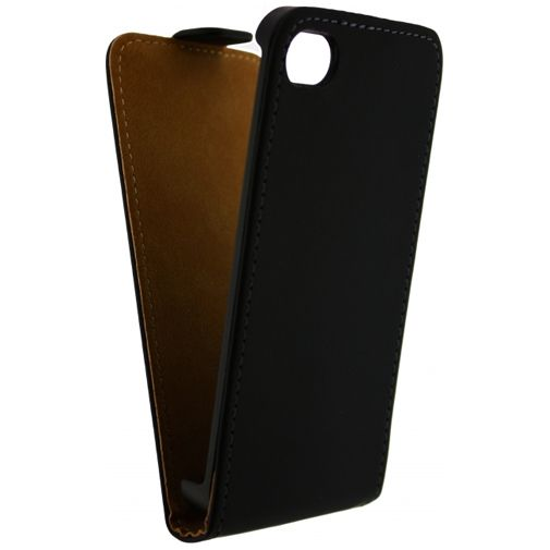 Mobilize Ultra Slim Flip Case Black Apple iPhone 4/4S