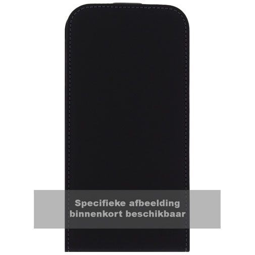 Productafbeelding van de Mobilize Ultra Slim Flip Case Black BlackBerry Leap