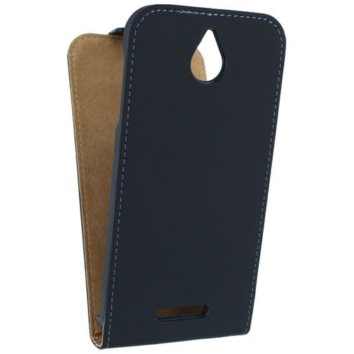 Mobilize Ultra Slim Flip Case Black HTC Desire 510