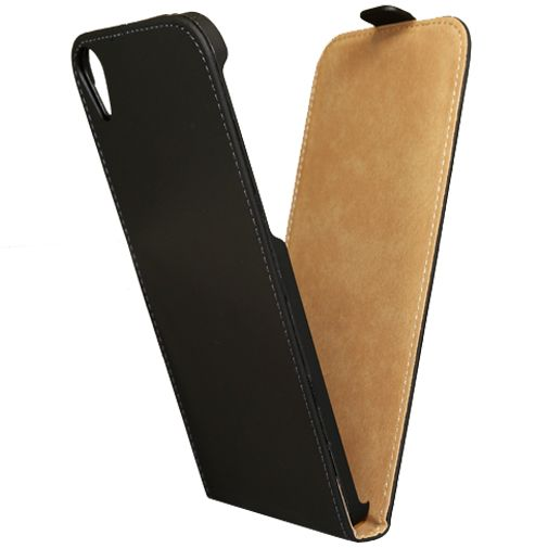 Mobilize Ultra Slim Flip Case Black HTC Desire 820