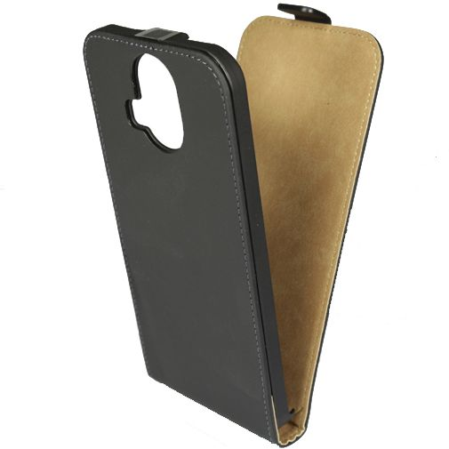 Mobilize Ultra Slim Flip Case Black HTC One M9 Plus