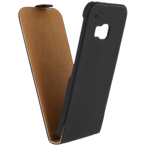 Mobilize Ultra Slim Flip Case Black HTC One M9 (Prime Camera Edition)