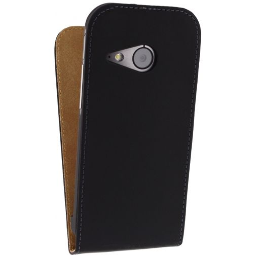 Mobilize Ultra Slim Flip Case Black HTC One Mini 2