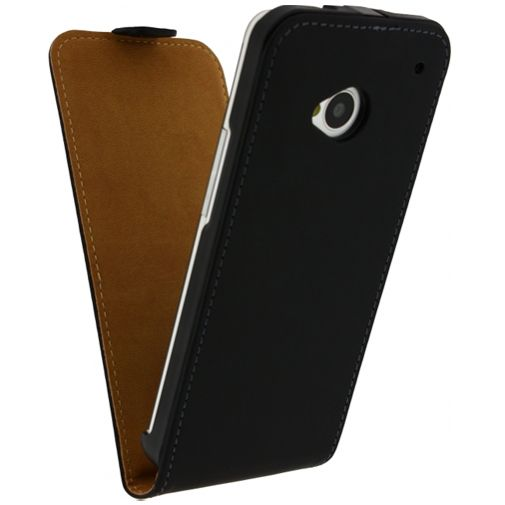 Mobilize Ultra Slim Flip Case Black HTC One