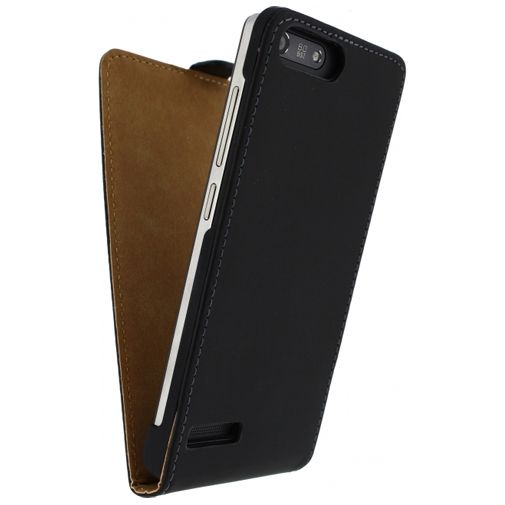 Productafbeelding van de Mobilize Ultra Slim Flip Case Black Huawei Ascend G6 4G