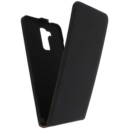 Mobilize Ultra Slim Flip Case Black Huawei Ascend Mate 7
