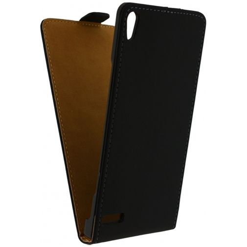 Mobilize Ultra Slim Flip Case Black Huawei Ascend P6