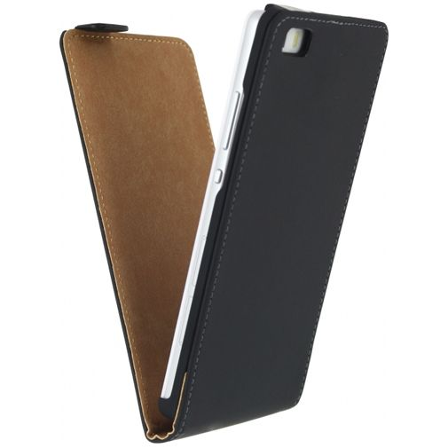 Mobilize Ultra Slim Flip Case Black Huawei P8 Lite