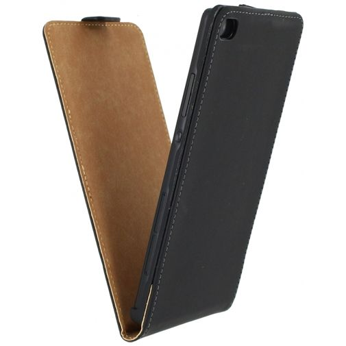 Mobilize Ultra Slim Flip Case Black Huawei P8