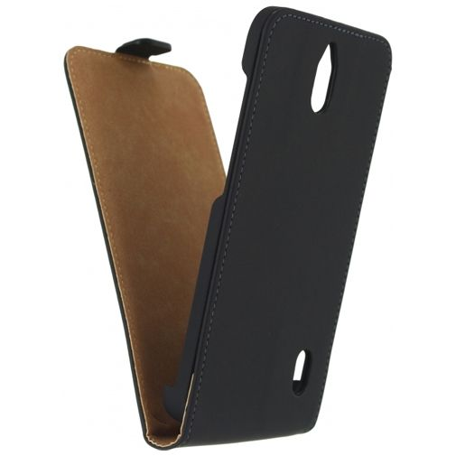 Mobilize Ultra Slim Flip Case Black Huawei Y625