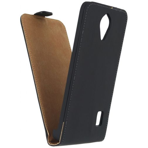 Mobilize Ultra Slim Flip Case Black Huawei Y635
