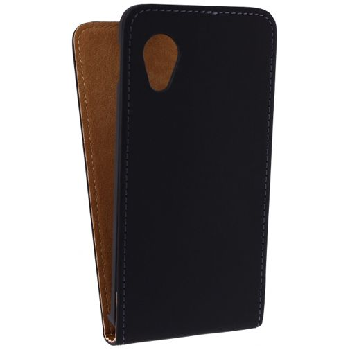 Mobilize Ultra Slim Flip Case Black LG Nexus 5