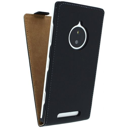 Mobilize Ultra Slim Flip Case Black Lumia 830