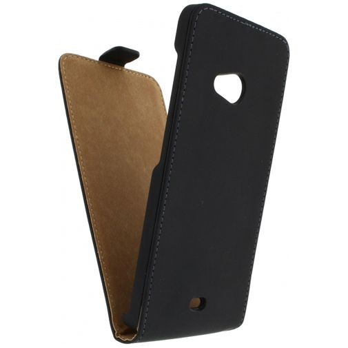 Mobilize Ultra Slim Flip Case Black Microsoft Lumia 535