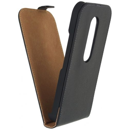 Mobilize Ultra Slim Flip Case Black Motorola Moto G (3rd Gen)