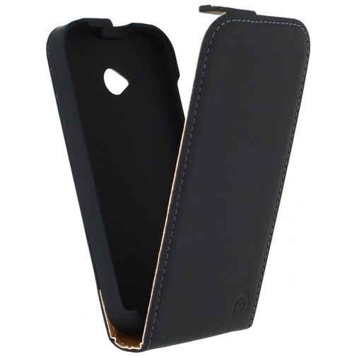 Mobilize Ultra Slim Flip Case Black Motorola New Moto E