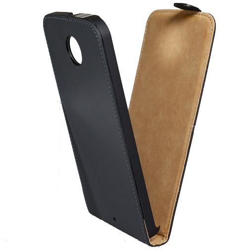 Mobilize Ultra Slim Flip Case Black Motorola Nexus 6