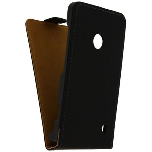Productafbeelding van de Mobilize Ultra Slim Flip Case Black Nokia Lumia 520
