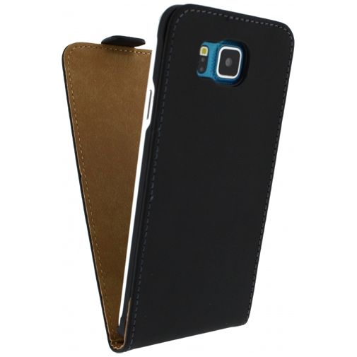 Mobilize Ultra Slim Flip Case Black Samsung Galaxy Alpha