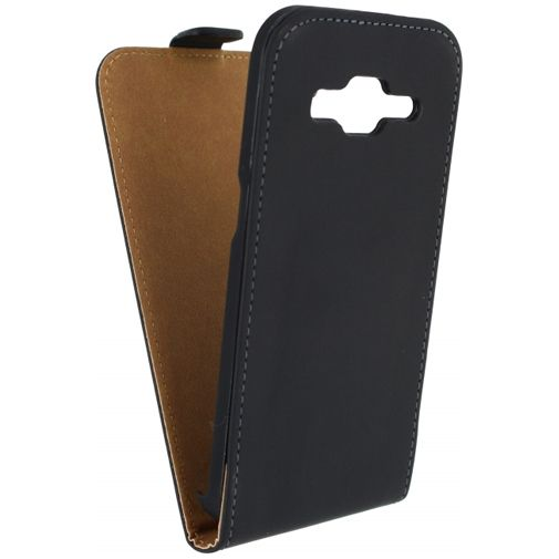 Productafbeelding van de Mobilize Ultra Slim Flip Case Black Samsung Galaxy Core Prime (VE)