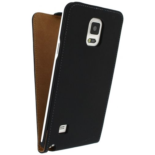 Productafbeelding van de Mobilize Ultra Slim Flip Case Black Samsung Galaxy Note 4