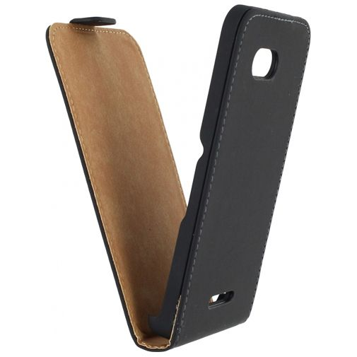 Mobilize Ultra Slim Flip Case Black Sony Xperia E4G