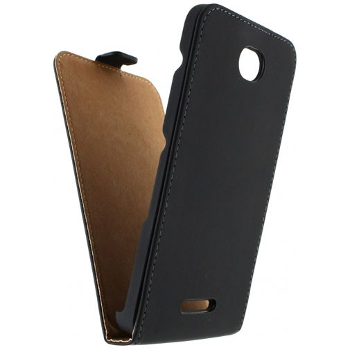 Mobilize Ultra Slim Flip Case Black Sony Xperia E4