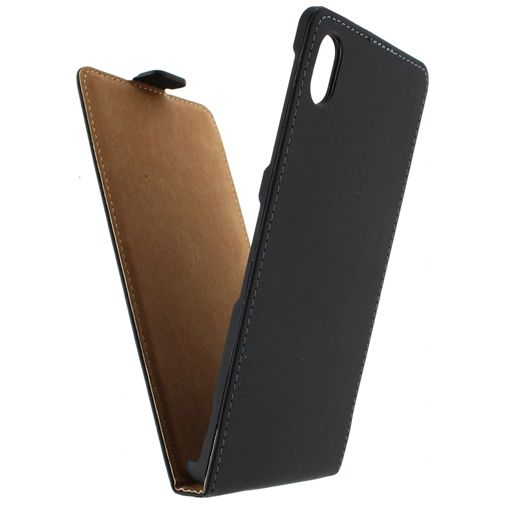 Mobilize Ultra Slim Flip Case Black Sony Xperia M4 Aqua
