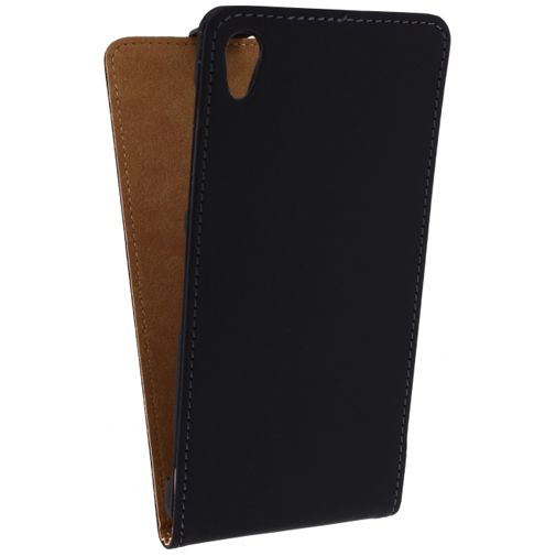Mobilize Ultra Slim Flip Case Black Sony Xperia Z2