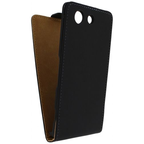 Mobilize Ultra Slim Flip Case Black Sony Xperia Z3 Compact