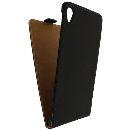 Mobilize Ultra Slim Flip Case Black Sony Xperia Z3