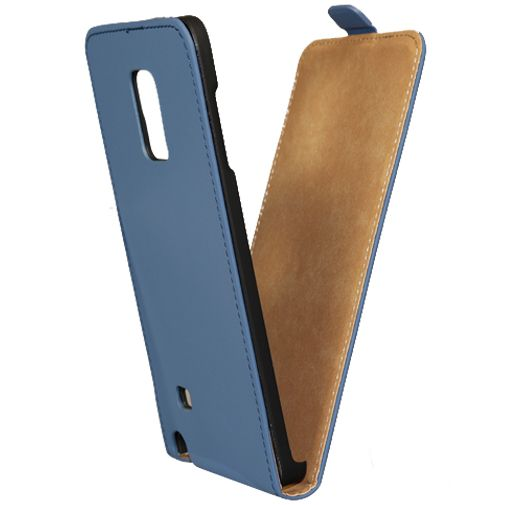 Mobilize Ultra Slim Flip Case Blue Samsung Galaxy Note Edge