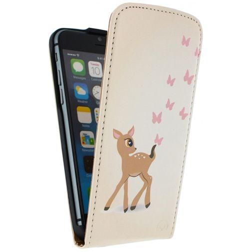 Mobilize Ultra Slim Flip Case Deer Apple iPhone 6/6S