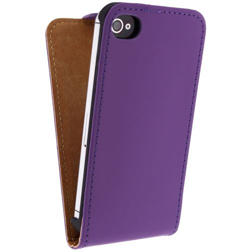Mobilize Ultra Slim Flip Case Purple Apple iPhone 4/4S