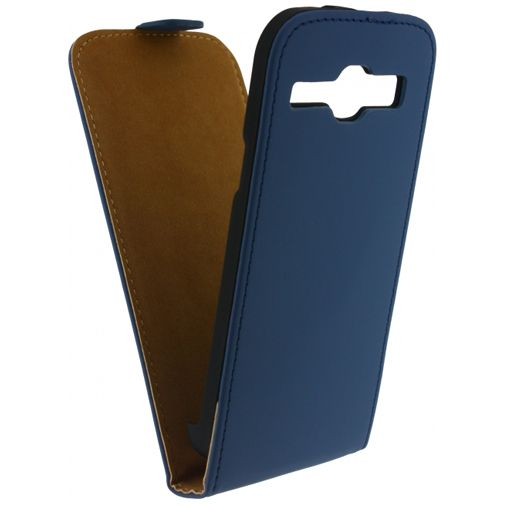 Mobilize Ultra Slim Flip Case Samsung Galaxy Core Dark Blue