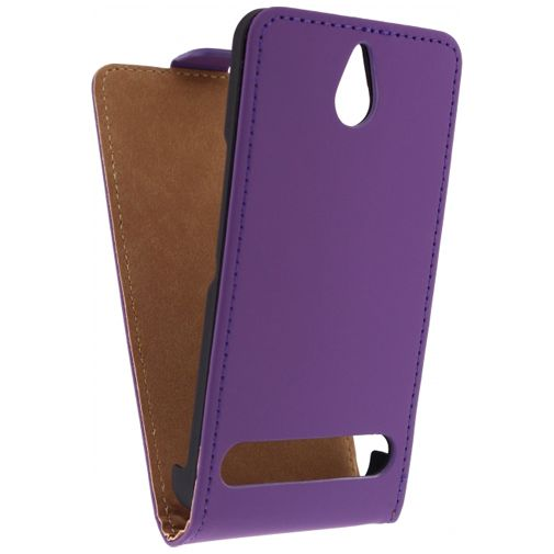 Mobilize Ultra Slim Flip Case Sony Xperia E1 Purple
