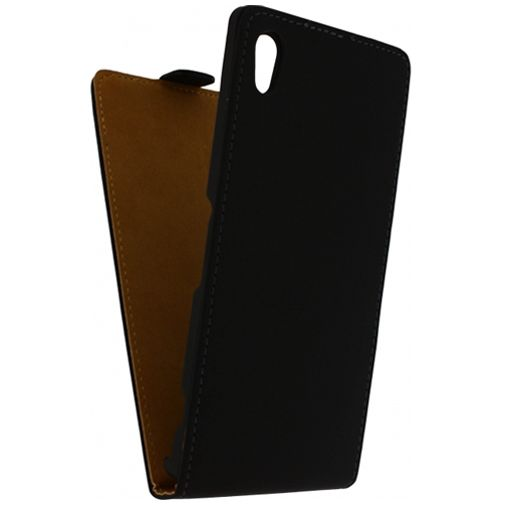 Mobilize Ultra Slim Flip Case Black Sony Xperia Z1