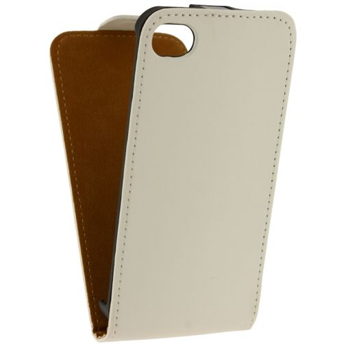 Mobilize Ultra Slim Flip Case White Apple iPhone 4/4S