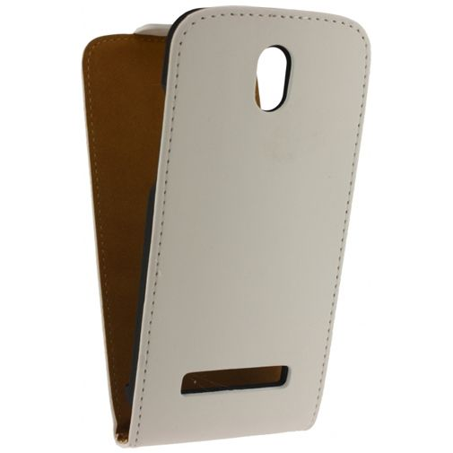 Mobilize Ultra Slim Flip Case White HTC Desire 500