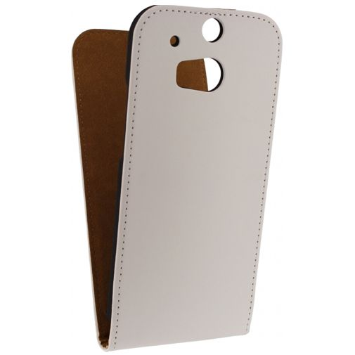 Mobilize Ultra Slim Flip Case White HTC One M8/M8s